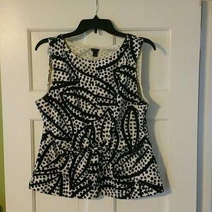 Ann Taylor sleeveless shirt